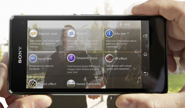 Sony Xperia Z1 Compact - Apps