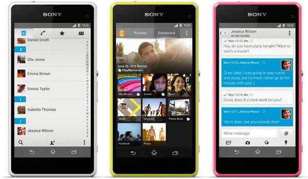 Sony Xperia Z1 Compact - Easy transfer