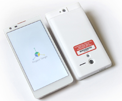 Google Introduces Project Tango – A 3D Sensor-Enabled Smartphone