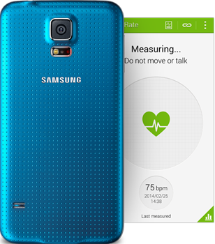Samsung Galaxy S5  Heart rate sensor