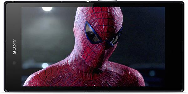 Sony Z Ultra Google Play Edition - Display