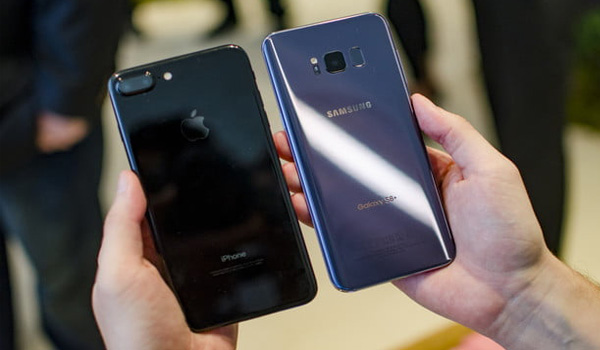 Here is a Comparison of Galaxy S8 vs iPhone 7