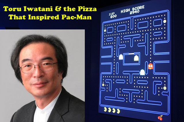 Pac-man invented while eating pizza Video Game Facts