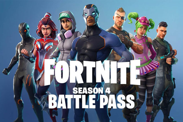 The Wait Is Over Fortnite Season 4 Battle Pass Is Here