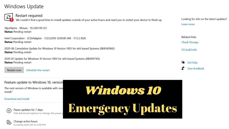 Latest Windows 10 and Server Emergency Updates Reinforce Data Protection