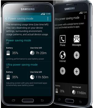 Samsung Galaxy S5  Power Saver