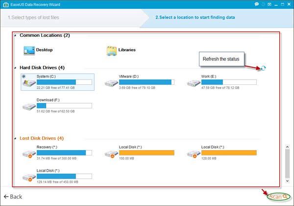 Data-Recovery-Select-Locati