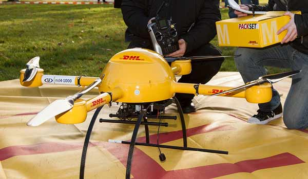 Drone-for-Delivery